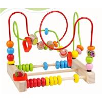 大号儿童串珠绕珠婴儿益智力早教玩具10-11月宝宝积木1-2岁3周岁