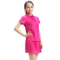 满百包邮 正品佛雷斯/FLEX 羽毛球服羽毛球短袖T恤 女士款 WS1021