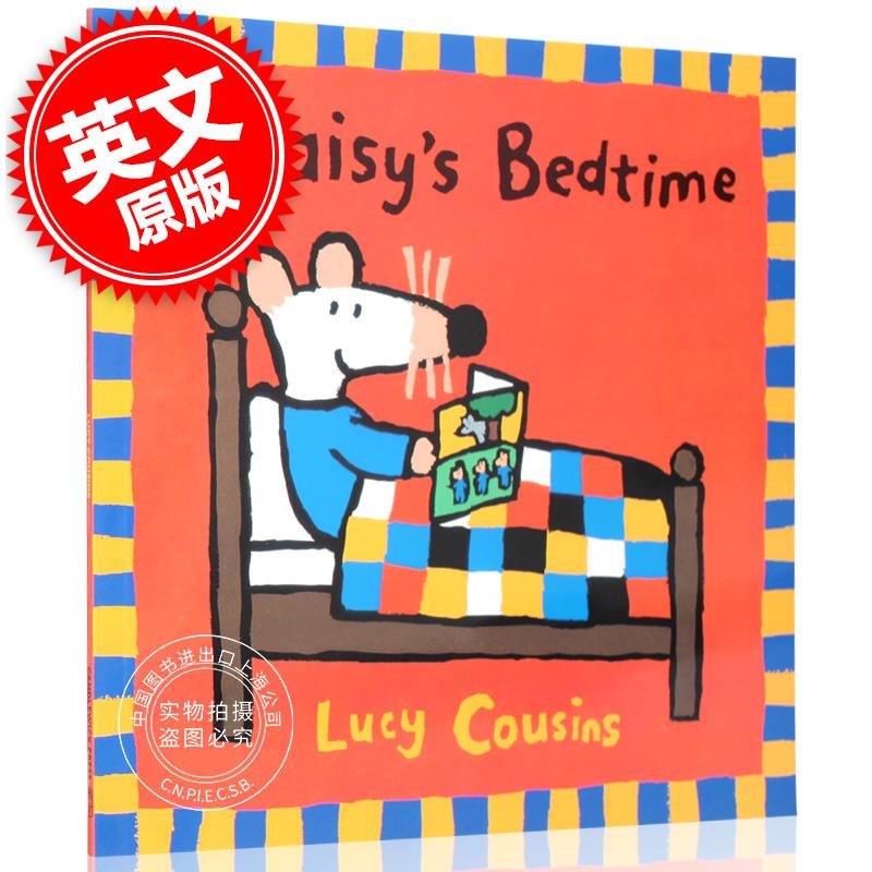 现货 小鼠波波的睡前故事 英文原版 Maisy's Bedtime 进口儿童绘本 2-6岁 Lucy Cousins 露西卡森 Maisy's Bedtime