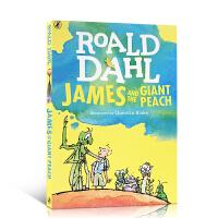 顺丰发货 英文原版小说 James and the Giant Peach Roald Dahl 詹姆斯与大仙桃 罗尔德・达尔 畅销小说