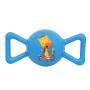 【当当自营】费雪FisherPrice 糖果摇铃球皮球婴幼儿手抓球充气发声铃铛球手柄球摇摇球F0902蓝色