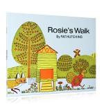 Rosie's Walk 母鸡萝丝去散步ISBN9780020437505英语英文原版绘本