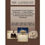 Consolidation Coal Company, Petitioner, v. United States. U