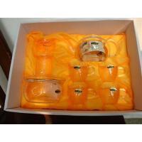 耐热玻璃茶具礼盒套装 加厚环保花茶壶套装