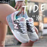 New Barlun纽巴伦春季运动男女跑步鞋运动鞋N字韩版情侣