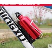 山地单车户外运动金属便携水壶骑行装备 超轻自行车铝合金水壶水杯