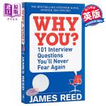 【中商原版】101个面试问题你再也不会害怕 英文原版 英文版 Why You?: 101 Interview Ques