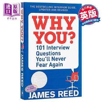 【中商原版】101个面试问题你再也不会害怕 英文原版 英文版 Why You?: 101 Interview Questions 商业与财富