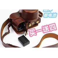 适用于索尼ILCE-a5000a5100 a6000 a6300L相机包微单皮套手柄取电池世帆家 a6000/a630