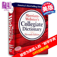 【中商原版】�f氏大�W英�Z�~典 �f氏�~典 �f氏英文�~典 英文原版 Merriam-Webster's Collegiate