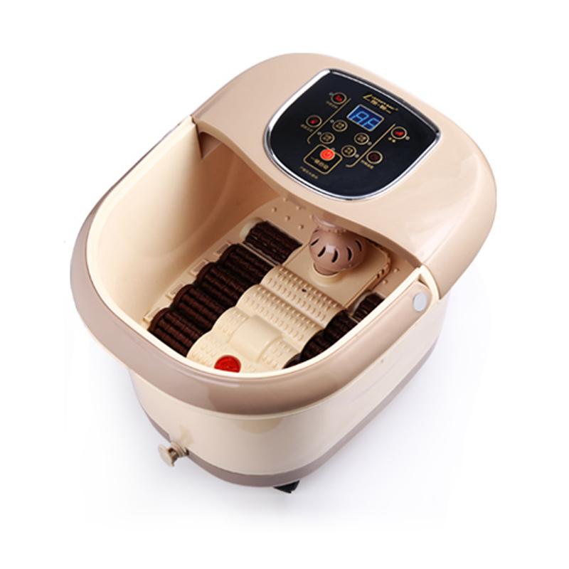 朗悦 LY-806 / 5816全自动电动按摩足浴盆 深桶足浴器 洗脚盆 泡脚桶 大显屏 外排水 大显屏 八组电动滚轮按摩+两组自助滚轮按摩