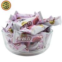徐福记 麦谷力 燕麦巧克力 500g 散装称 牛奶/玉米/紫薯/黑米 多种口味可选(代可可脂)
