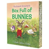 【现货】英文原版 Richard Scarry's Box Full of Bunnies 斯凯瑞小兔子3本合集 978