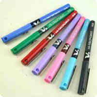 日本Pilot百乐笔bx-v5耐水性走珠笔 百乐V5中性笔/水笔 0.5mm