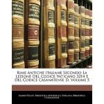【预订】Rime Antiche Italiane Secondo La Lezione del Codice Vat