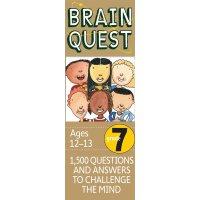 英文原版 智力开发系列 Brain Quest Grade 7