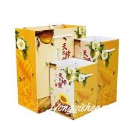 蜂蜜包装盒礼品袋蜂蜜礼盒礼品袋1斤2斤蜂蜜手提袋礼品盒批发