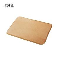 家用防滑脚垫 卫生间门垫地毯吸水脚踏垫 浴室门厅防滑垫厨房地垫 60*40CM