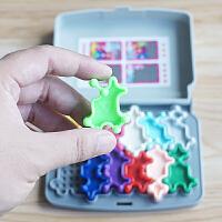 小乖蛋 脑部总动员 观察力注意力想象力训练积木拼图游戏益智玩具
