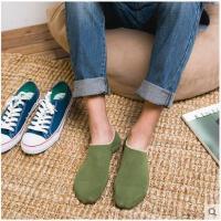 春夏季男士薄款船袜 一条杠隐形袜休闲运动袜低帮浅口短袜棉袜