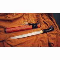 刀剑高锰钢樱木肋差武士刀多功能直刀 居家把玩短刀镇宅乔迁礼品收藏把玩刀具 短刀