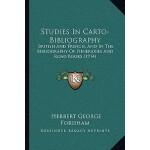 【预订】Studies in Carto-Bibliography: British and French, and