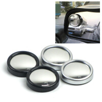 舜威 汽车后视镜倒车镜 汽车小圆镜 可旋转反光镜凸镜