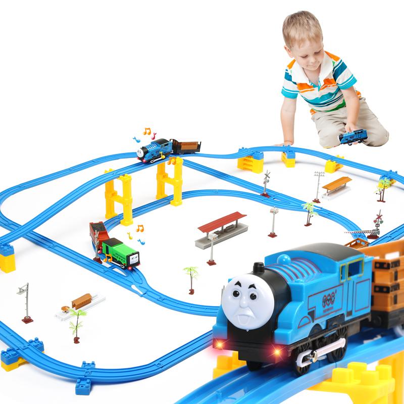托马斯小火车套装轨道电动合金儿童玩具男孩子4 5岁3-8岁益智