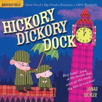 【现货】英文原版 Indestructibles: Hickory Dickory Dock 滴答滴答钟声响 婴儿无毒
