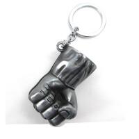复仇者联盟2周边 美国队长盾牌雷神锤绿巨人拳头 钥匙扣挂件