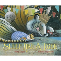 睡吧,像老虎一样 英文原版 Sleep Like a Tiger 2013年凯迪克银奖作品