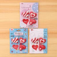 一正 YZ1563爱心橡皮擦立体卡通幼儿儿童大中小学生创意可爱造型独立包装学习礼品文具用品当当自营