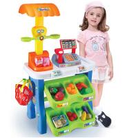 儿童玩具女孩过家家玩具女童小宝宝购物收银机餐台 套装