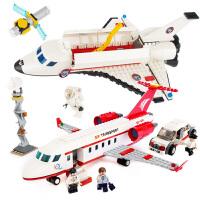 航天飞机积木模型益智力6拼装儿童8男孩子12岁小学生玩具
