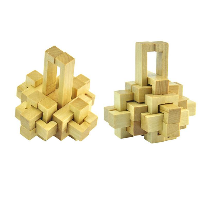 4九连环智力玩具成人益智华容道套装解扣解环学生圣诞节礼物