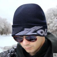 男士帽子秋冬季毛线帽保暖加厚加绒骑行垂钓防冻头舒适时尚