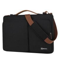 小米电脑包套平板电脑袋笔记本手提袋电脑包女手提男14寸15.6寸 黑色 14寸