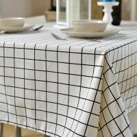 清货 小清新棉麻桌布布艺台布餐桌布茶几布餐垫桌垫长方形盖巾