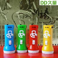 久量LED充电式特小款便携手电筒家庭户外迷你手电筒9121b