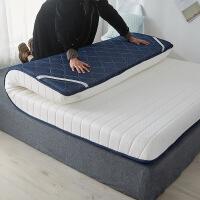 乳胶海绵床垫加厚双人家用1.8米可折叠单人记忆棉软垫褥子