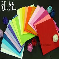 DIY99朵手工川崎折纸玫瑰花材料珠光纸手揉纸折痕纸花15*15cm