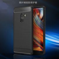 碳纤维拉丝手机壳 保护套 适用小米note3 note2 小米MIX2 max2 小米5X 小米6 5C 小米5 5S保护壳