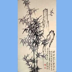 清代著名的书画家,文学家,康熙秀才,雍正举人,乾隆进士扬州八怪重要代表人物郑板桥(竹子)