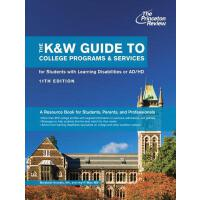 【预订】The K&w Guide to College Programs & Services for Studen