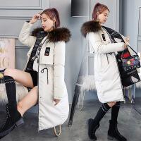 两面穿棉袄女2018新款韩版学生冬季中长款反季加厚保暖
