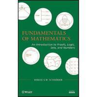 【预订】Fundamentals of Mathematics: An Introduction to Proofs,