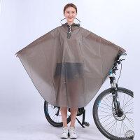 20190815061909353自行车雨衣女男士骑行单人学生山地单车透明雨披时尚个性韩版 XXL
