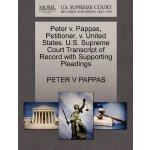 Peter v. Pappas, Petitioner, v. United States. U.S. Supreme