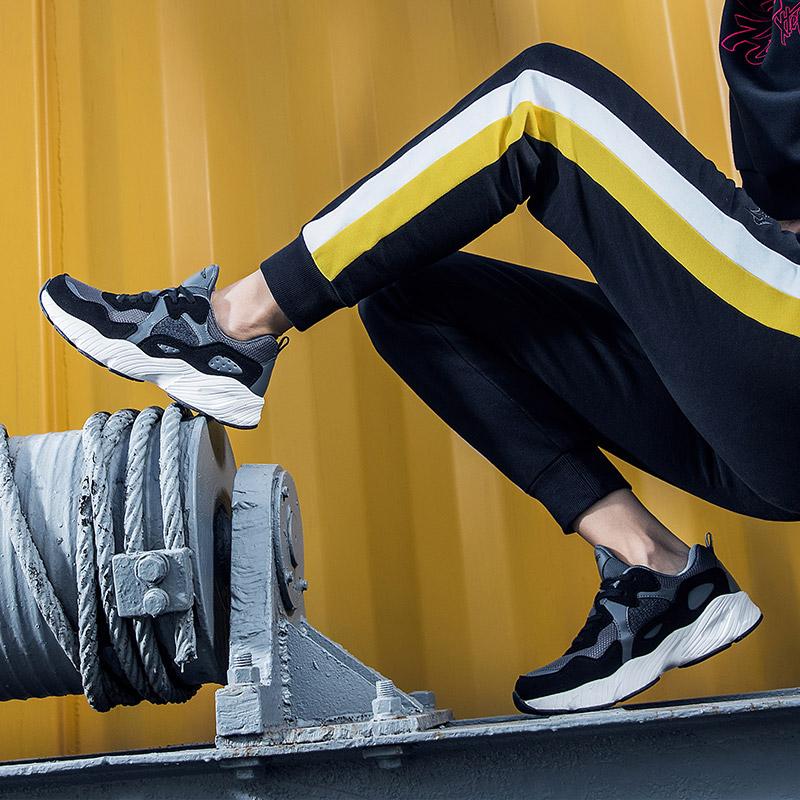 【1件6折 2件5折】特步女鞋复古休闲鞋2019新款正品鞋子女运动鞋女老爹鞋跑步鞋882418329558