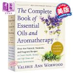 【中商原版】精油和芳香疗法全书 英文原版 The Complete Book of Essential Oils an